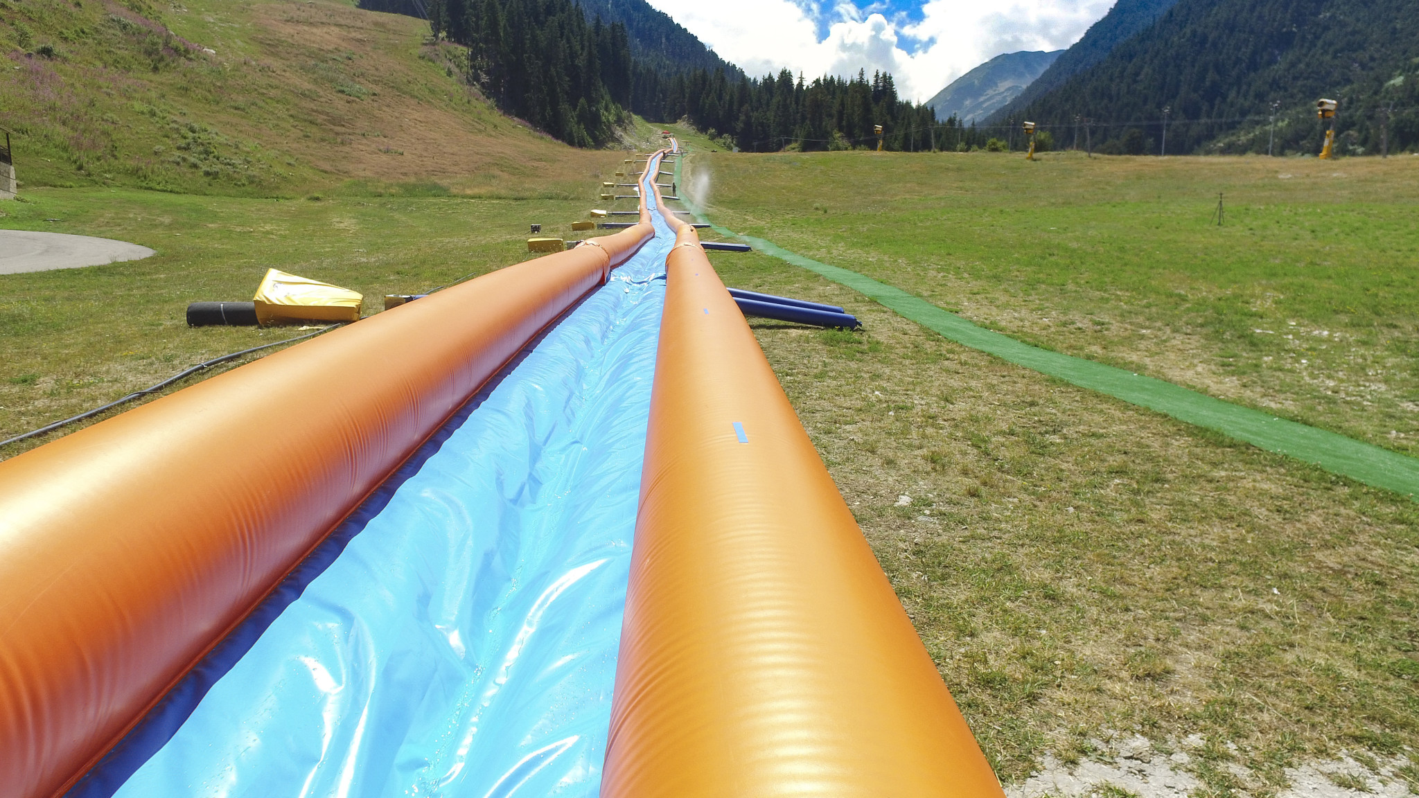 Insurance for Summer Tubing and Alpine Slides