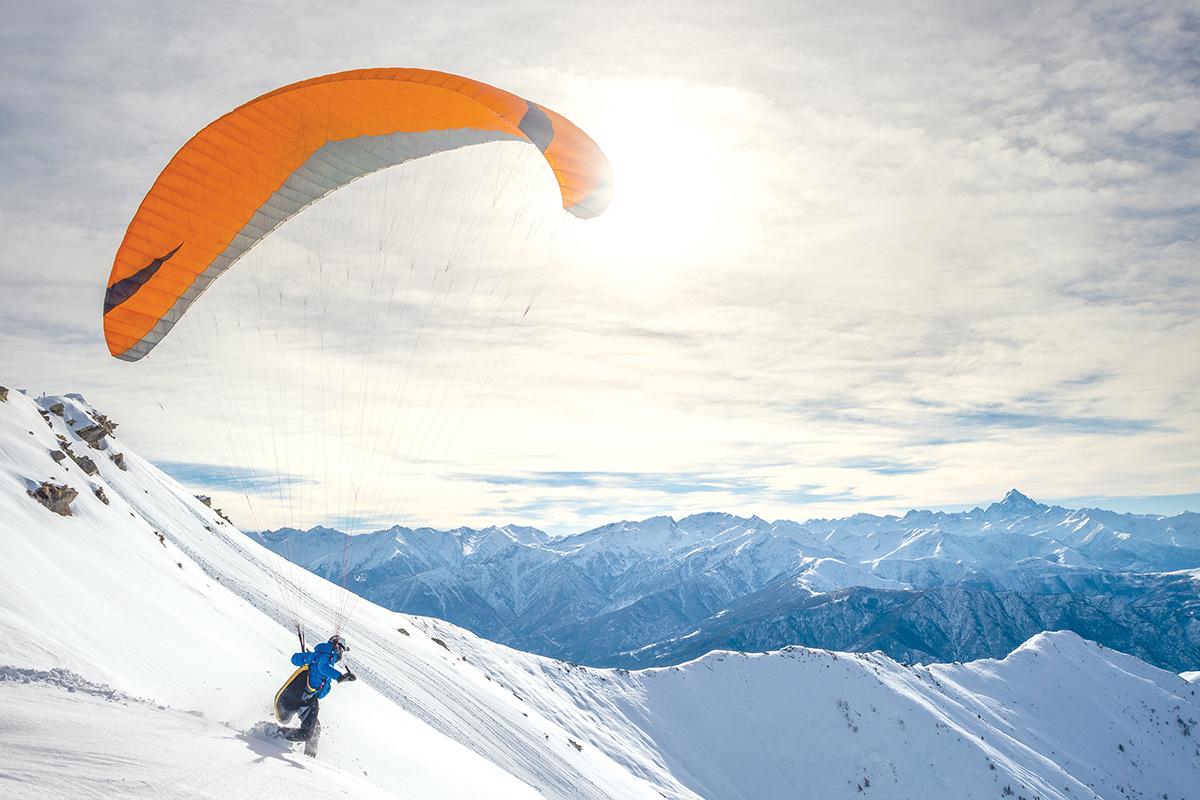 xinsurance kite skier