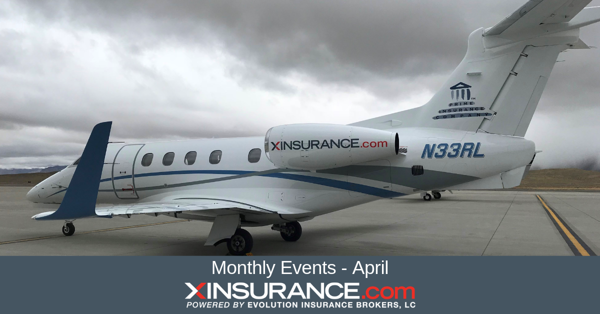 xinsurance monthly events april